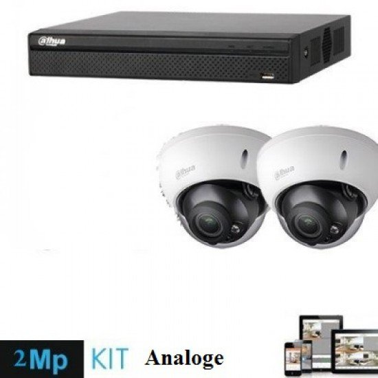 Kamera Sigurie 2MP Analoge   Set Kamera 2 cope