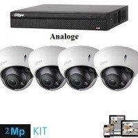 Set Kamera Sigurie 2MPx IP ( 4 cope ) Analoge