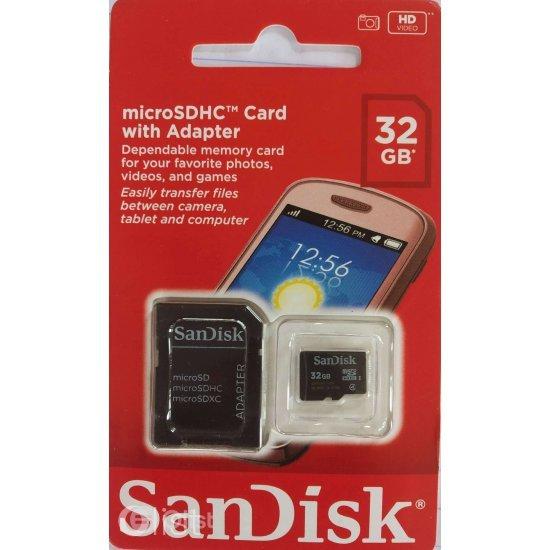 Karte Memorie SanDisk 32GB Micro SD