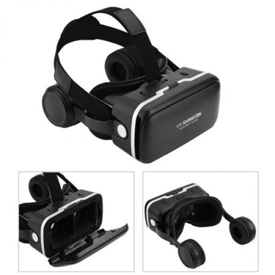 Syze Virtuale 3D Shinecon   Realiteti Virtual   Virtual Reality 3D VR Glasses