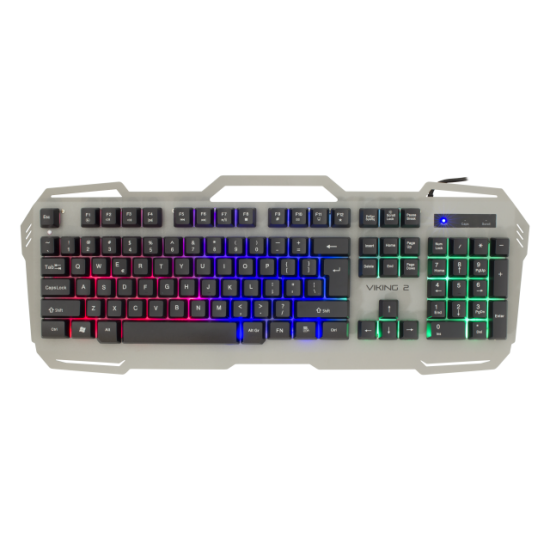 Tastiere White Shark per Lojra | White Shark KEYBOARD GK-1924 Metal VIKING-2