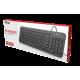 Tastiere Trust per Kompjuter Desktop | Trust Keyboard Muto Silent Black 23090
