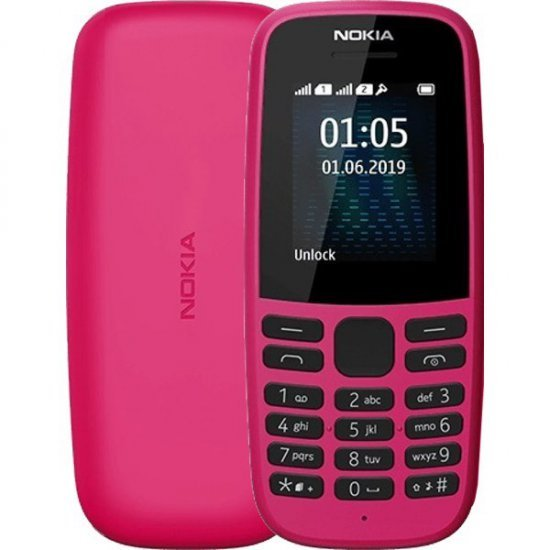 Nokia 105 2019 2 Sim | Telefon | RAM 4 MB | Memorie 4 MB