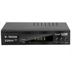 Dekoder Tokesor Dixhital DVB-T2 HD V-TECH